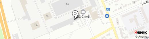 ДЕТ-ЮА на карте Макеевки