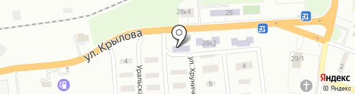 Макеевское медицинское училище на карте Макеевки