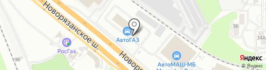 АвтоМАШ-МБ на карте Люберец
