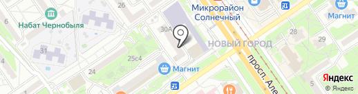 ЖЭУ №2 на карте Старого Оскола