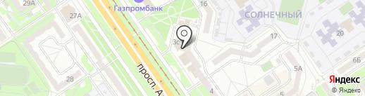 Мастерская по ремонту часов на карте Старого Оскола