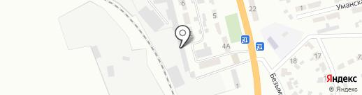 Компания на карте Макеевки