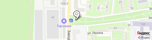 Олимп на карте Ивантеевки
