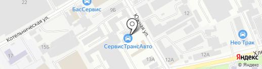 МотограД на карте Люберец