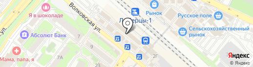 Салон-парикмахерская на карте Люберец