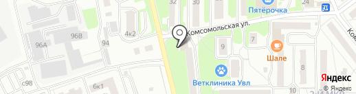 Магнит на карте Лыткарино