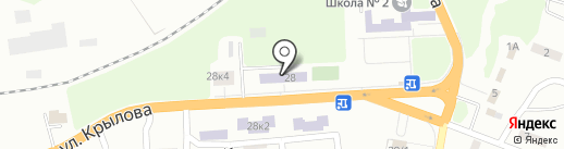Участковый пункт милиции №40 на карте Макеевки