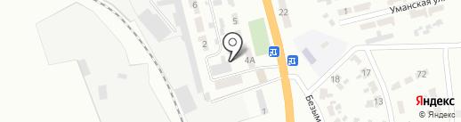 3 ВГСО на карте Макеевки