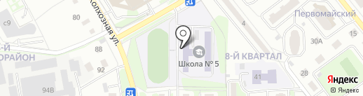 Лыткарино на карте Лыткарино