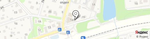 Киоск по продаже цветов на карте Балашихи