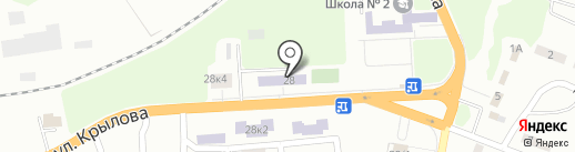 Участковый пункт полиции №40 на карте Макеевки