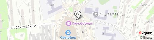 Магазин овощей и фруктов на карте Люберец