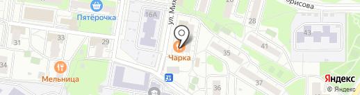 Магазин детских игрушек на карте Балашихи
