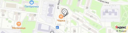 Валерия на карте Балашихи