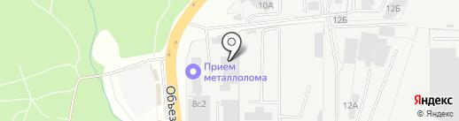 Векторол на карте Балашихи