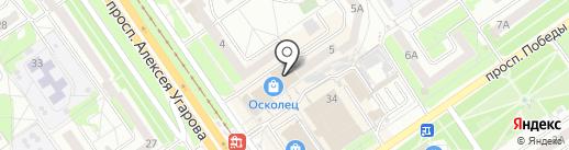 ПикничОК на карте Старого Оскола