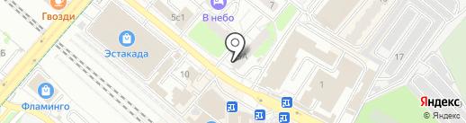 Аквамарин-Ломбард на карте Люберец