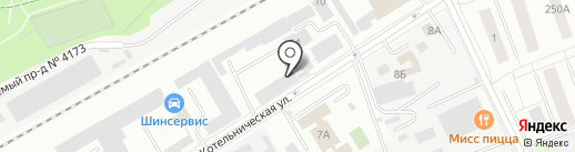 РАМЕНСКОЕ МЕЖРАЙГАЗ на карте Люберец
