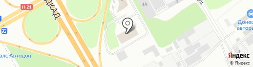 Донбасс-Скан-Сервис на карте Макеевки