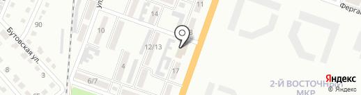 Продовольственный магазин на ул. Героев Сталинграда на карте Макеевки