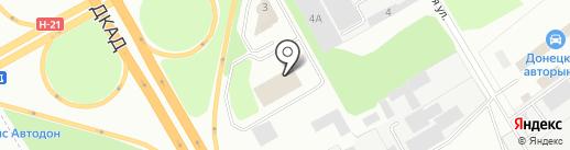 Донбасс-Скан-Сервис, сервисно-лизинговый центр на карте Макеевки