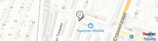 Ольга на карте Макеевки