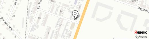 Участковый пункт полиции №39 на карте Макеевки