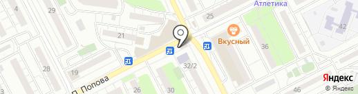 Магазин выпечки на карте Люберец