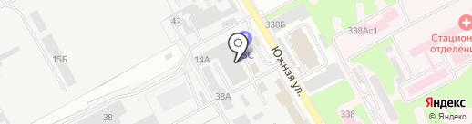 Автодом на карте Люберец