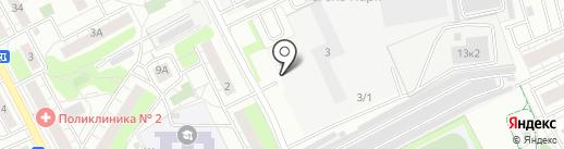 Степ-Моторс-1 на карте Люберец