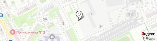Страховая компания на карте Люберец