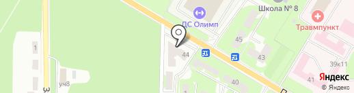 Хмельная Сова на карте Ивантеевки