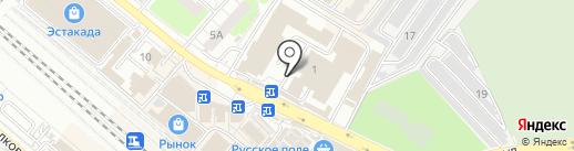 Лилия на карте Люберец