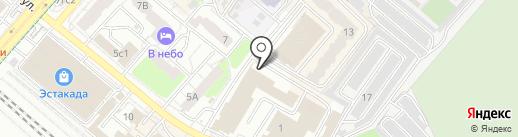 У березы на карте Люберец