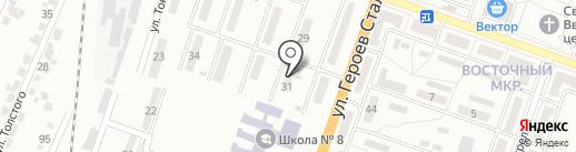 ОЩАДБАНК, ПАО на карте Макеевки