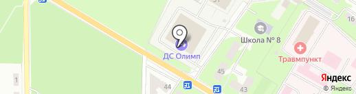 Спектр на карте Ивантеевки