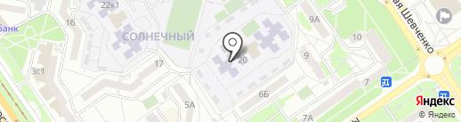 Детский сад №69, Ладушки на карте Старого Оскола