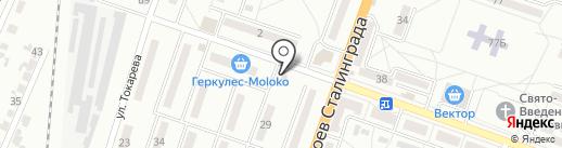 Аквариум на карте Макеевки