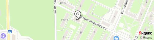 Алло, Подмосковье на карте Ивантеевки