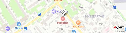 Росгосстрах банк, ПАО на карте Лыткарино