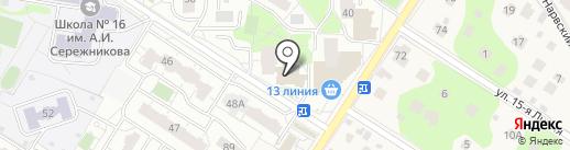Кристалл-Лефортово на карте Балашихи