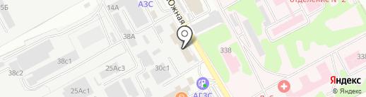 Gloria на карте Люберец