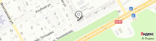 Отделение связи №23 на карте Макеевки