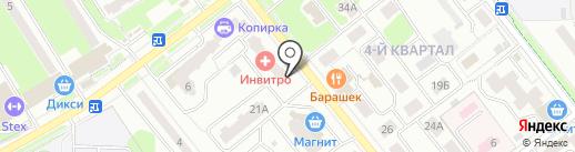 Славянское Подворье Л на карте Лыткарино