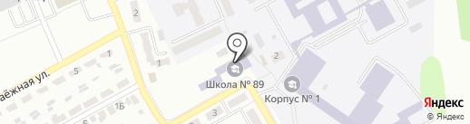 Макеевская общеобразовательная школа I-III ступеней №89 на карте Макеевки