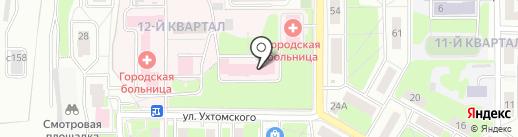 Лыткаринская городская больница на карте Лыткарино