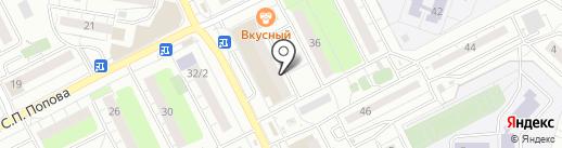 Ансолье на карте Люберец