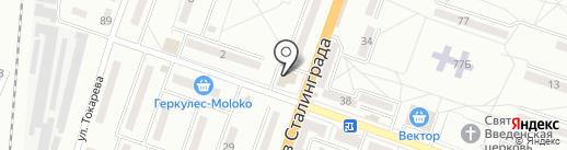 In-LAN, интернет-провайдер на карте Макеевки