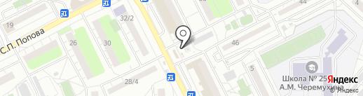 Продуктовый магазин на карте Люберец