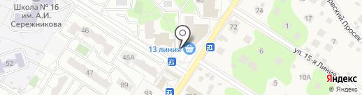Алеся на карте Балашихи